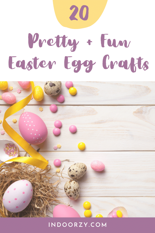 Pretty Fun Easter Egg Crafts