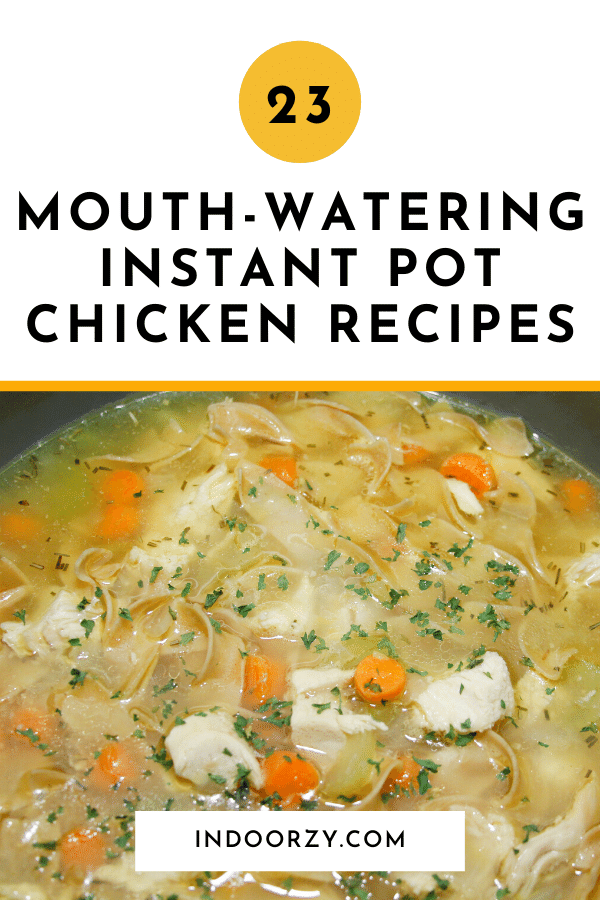 23 Mouth-Watering Instant Pot Chicken Recipes