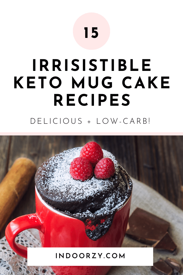 15 Irresistible Keto Mug Cake Recipes