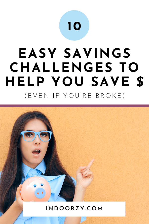 10 Easy Savings Challenges to Help You Save Money (Even If You're Broke)