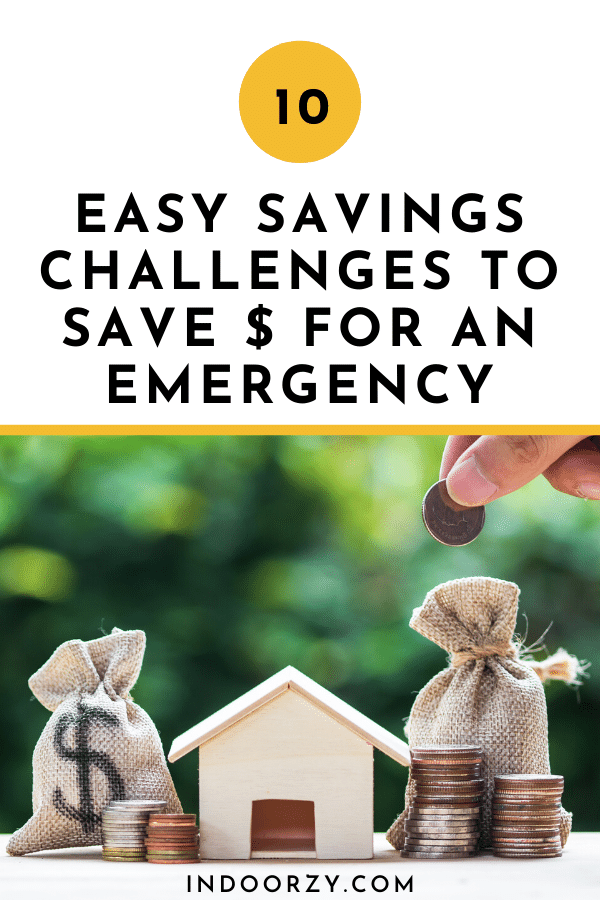 10 Easy Savings Challenges to Save Money for an Emergency