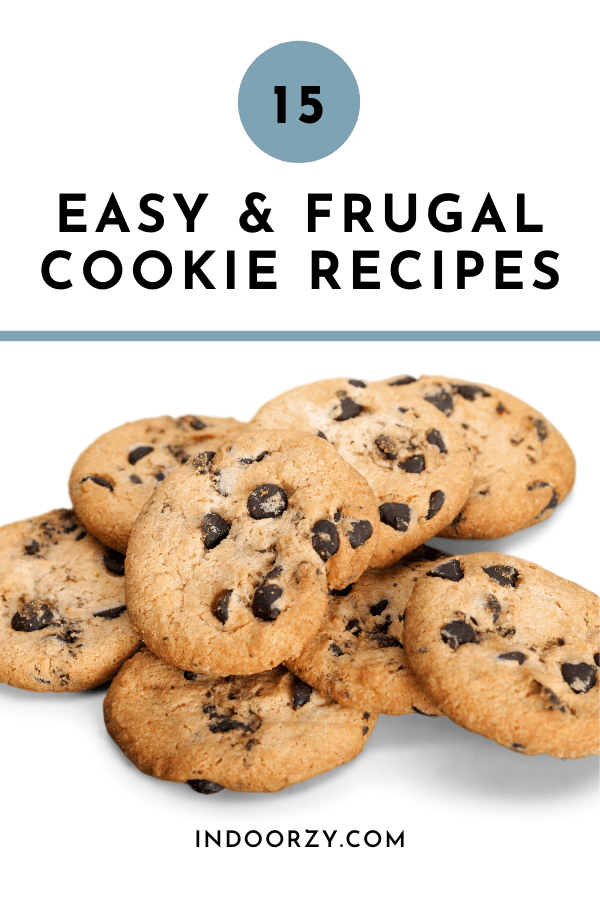 15 Easy & Frugal Cookie Recipes