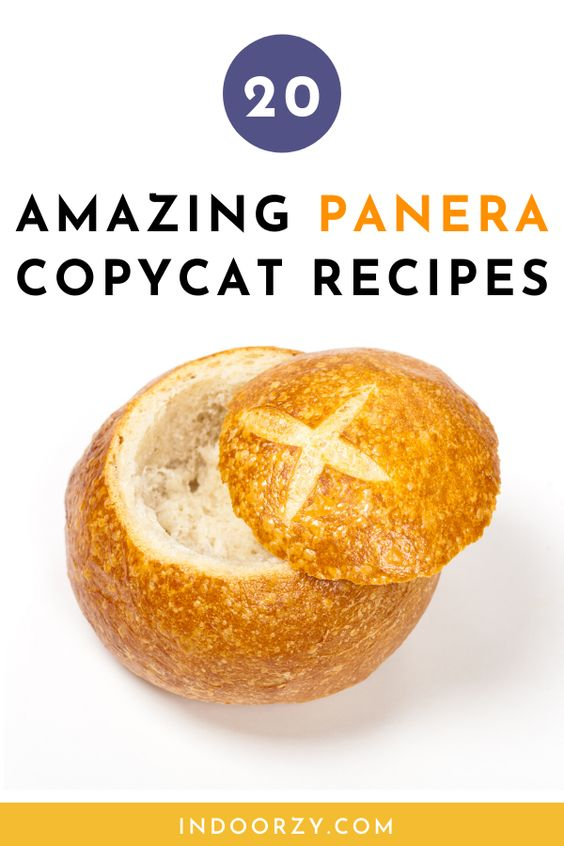 20 Amazing Panera Copycat Recipes