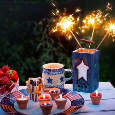 DIY 4th of July Decor | Patriotic Independence Day Decorations