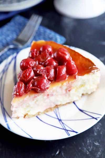Classic Cherry Cheesecake Recipe by Foodal