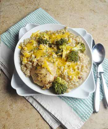 Crock Pot Chicken Divan (Recipe + Photo by SAVORYWITHSOUL.COM)