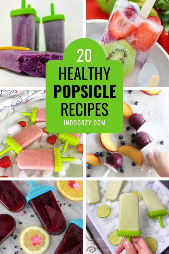 Easy Healthy Popsicle Recipes for Kids or Adults (Best Summer Treat!)