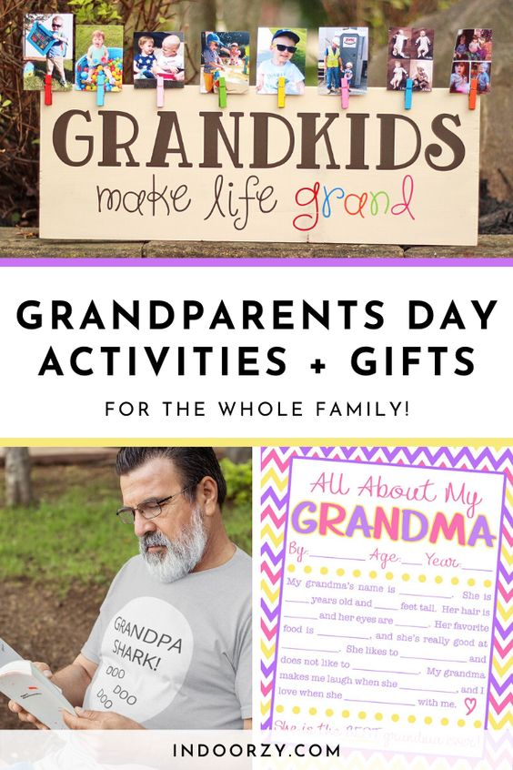 Happy Grandparents Day! Best Crafts, Gifts + Activities Ideas for Grandparents Day