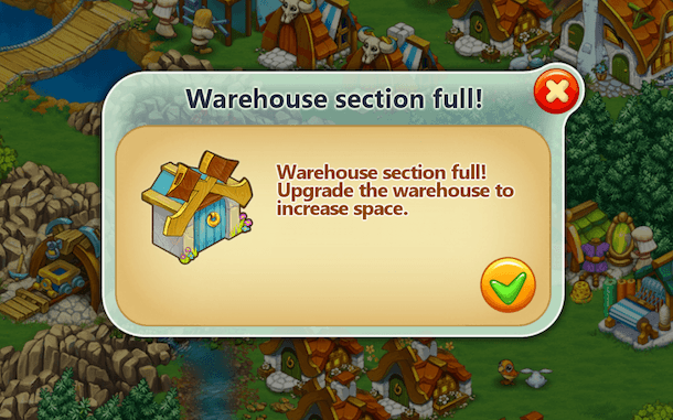 Harvest Land Warehouse Full? No Problem! Here's How to Make Room in Your Harvest Land Storage Warehouse