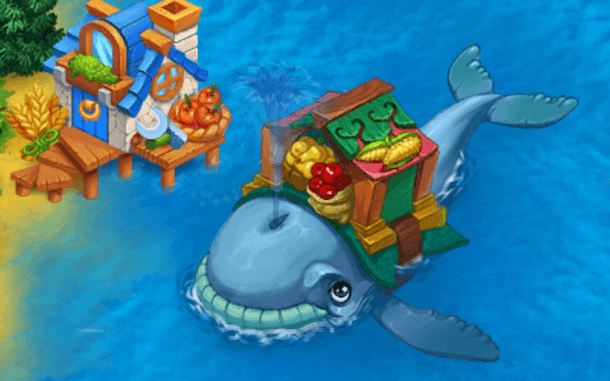 Harvest Land Whale   How to Request or Give Help in the Harvest Land Game