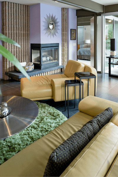 Modern Eclectic Living Room