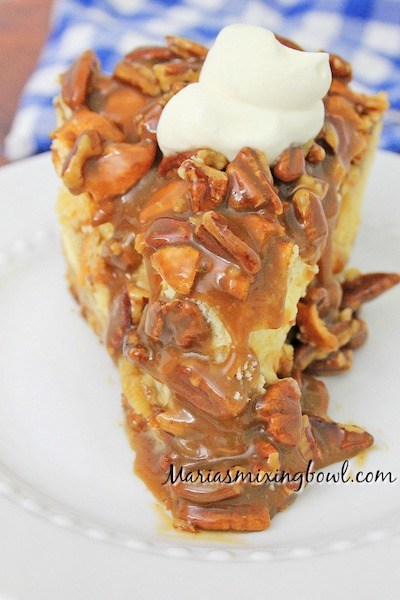 Pecan Pie Cheesecake Recipe by Maria's Mixing Bowl
