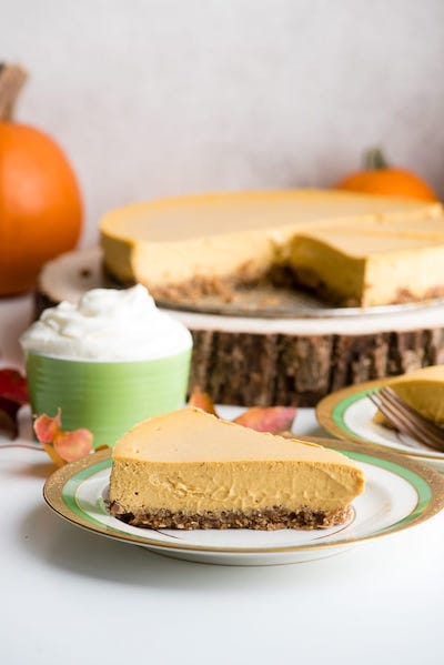 Pumpkin Cheesecake: the Creamiest Cheesecake Ever! Recipe by Boulder Locavore
