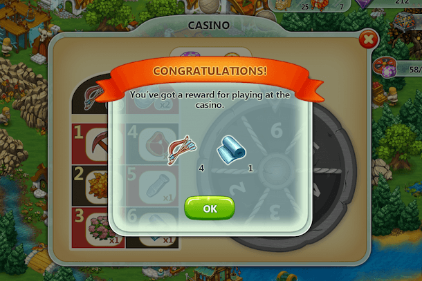 Won 2 Items at Once at the Harvest Land Casino