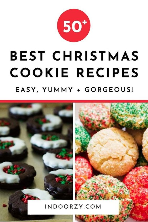 50+ of the Best Christmas Cookie Recipes (Easy + Delicious!)