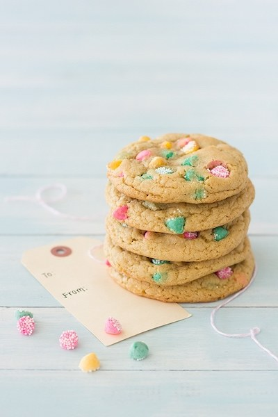 Petite Mint Holiday Cookies