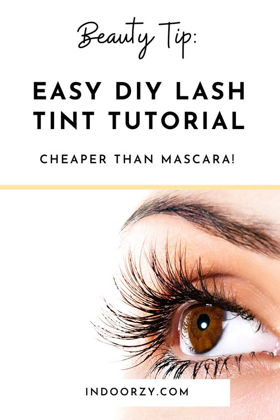 My Easy At Home Eyelash Tint Kit + DIY Steps to Dye Your Own Lashes